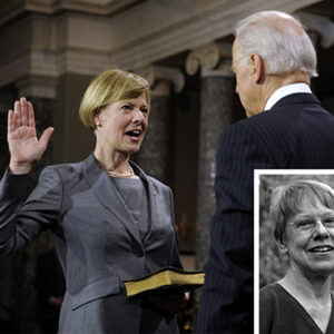 Senator Tammy Baldwin was sworn in as a Member of the United States Senate by Vice President Joe Biden on January 3rd, 2013.