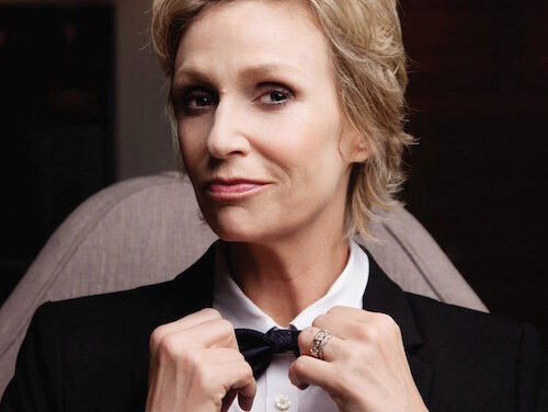 Walking a mile in Jane Lynch's (comfortable) shoes