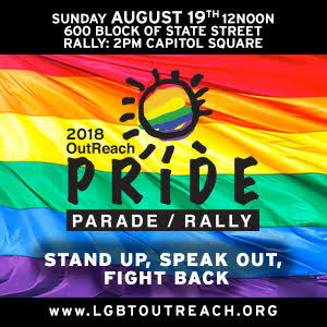 OutReach Pride Parade 2018